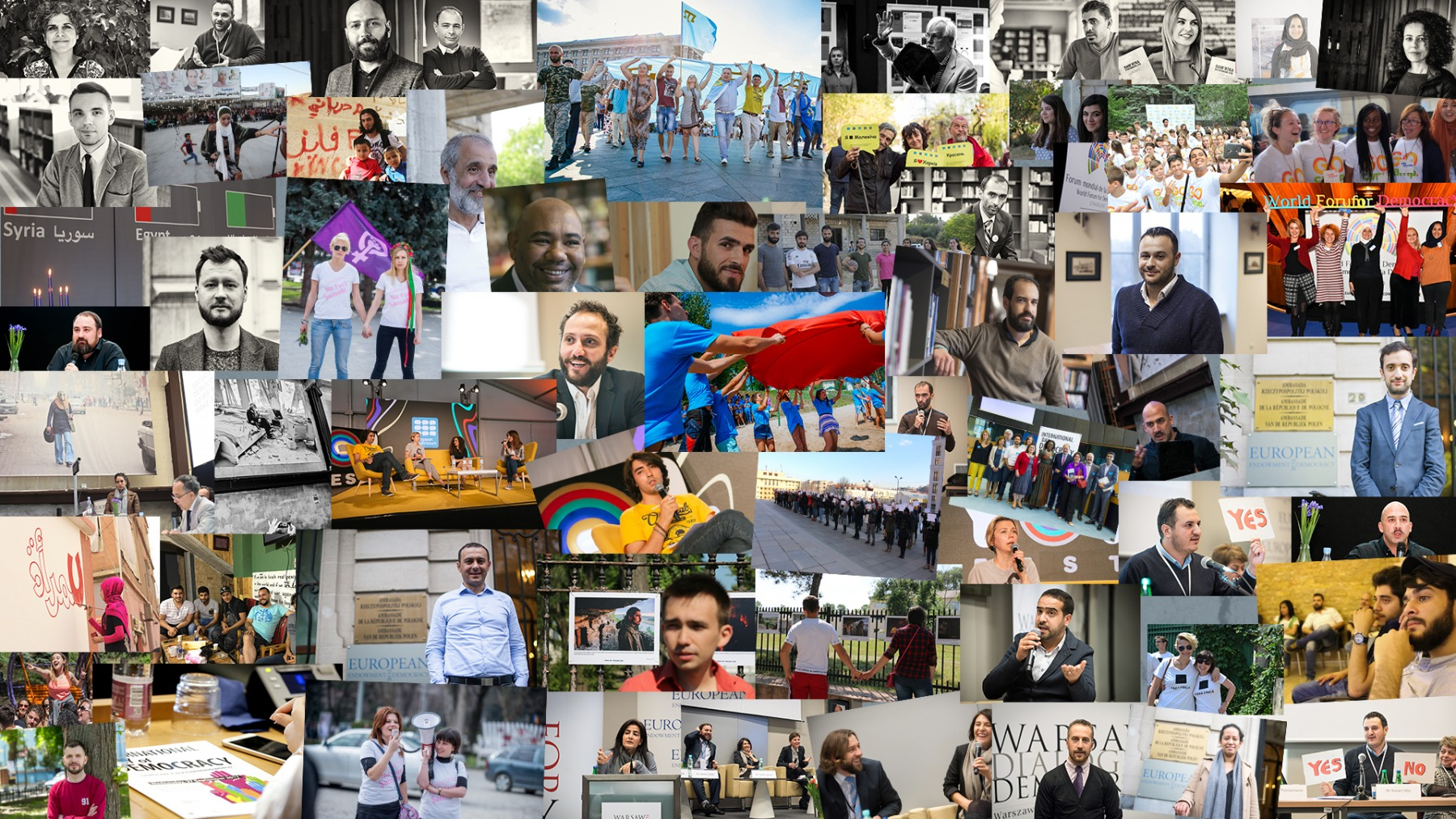 Five Years of EED: Supporting People Speaking Up for Democracy